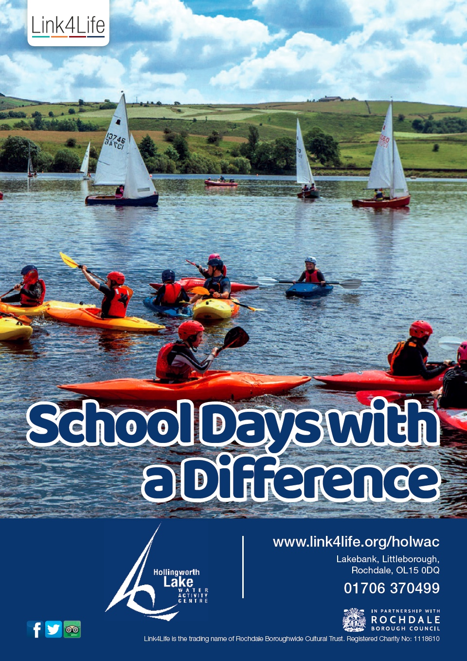 Schools education brochure cover