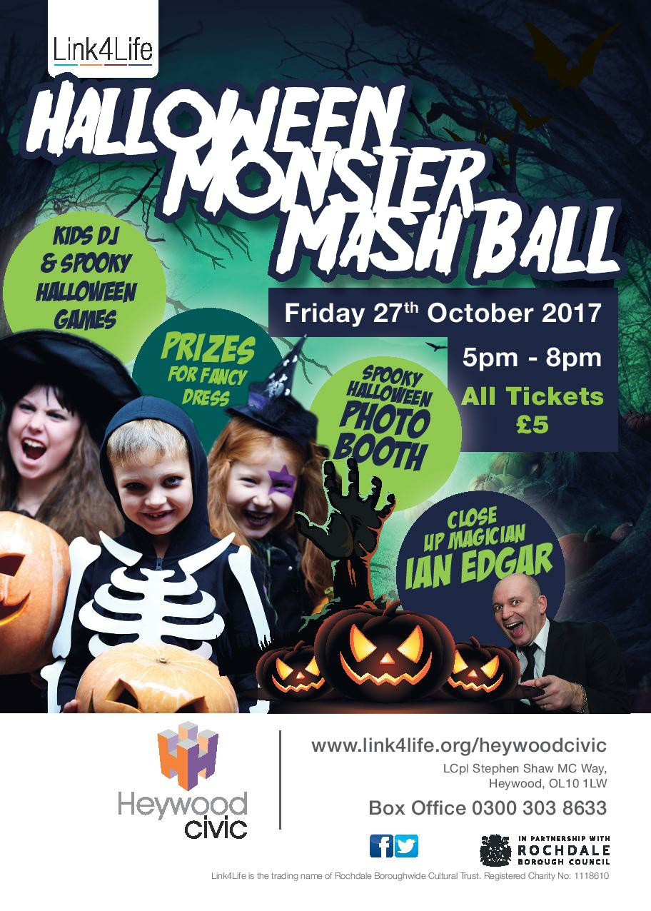 link4life (rochdale boroughwide cultural trust) - halloween monster