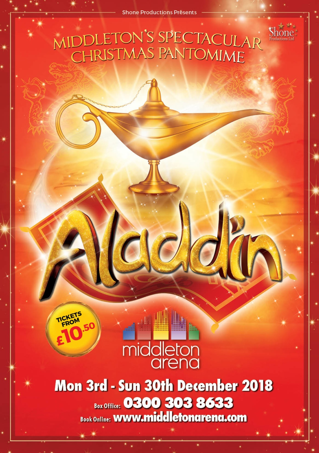 Aladdin - Manchester Pantomime 2018