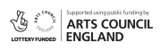 Supporters including Arts Council logo